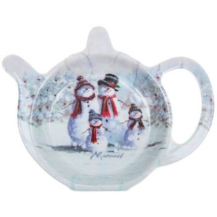 The Snowman Family Tea Bag Holder
